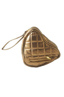 Riviera Maison Pure Elements Hartvorm make-up tas - Goud
