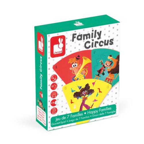 Janod Familie Circus geheugenspel kinderspel kopen