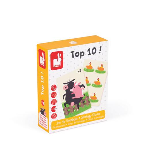 Janod Top 10! strategiespel kaartspel kopen