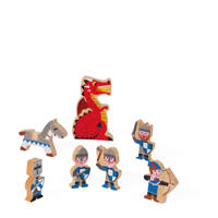 Janod houten Mini Story ridders