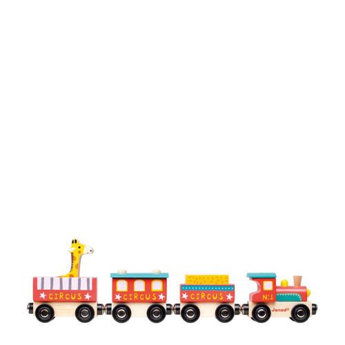 Janod houten Story trein circus kopen