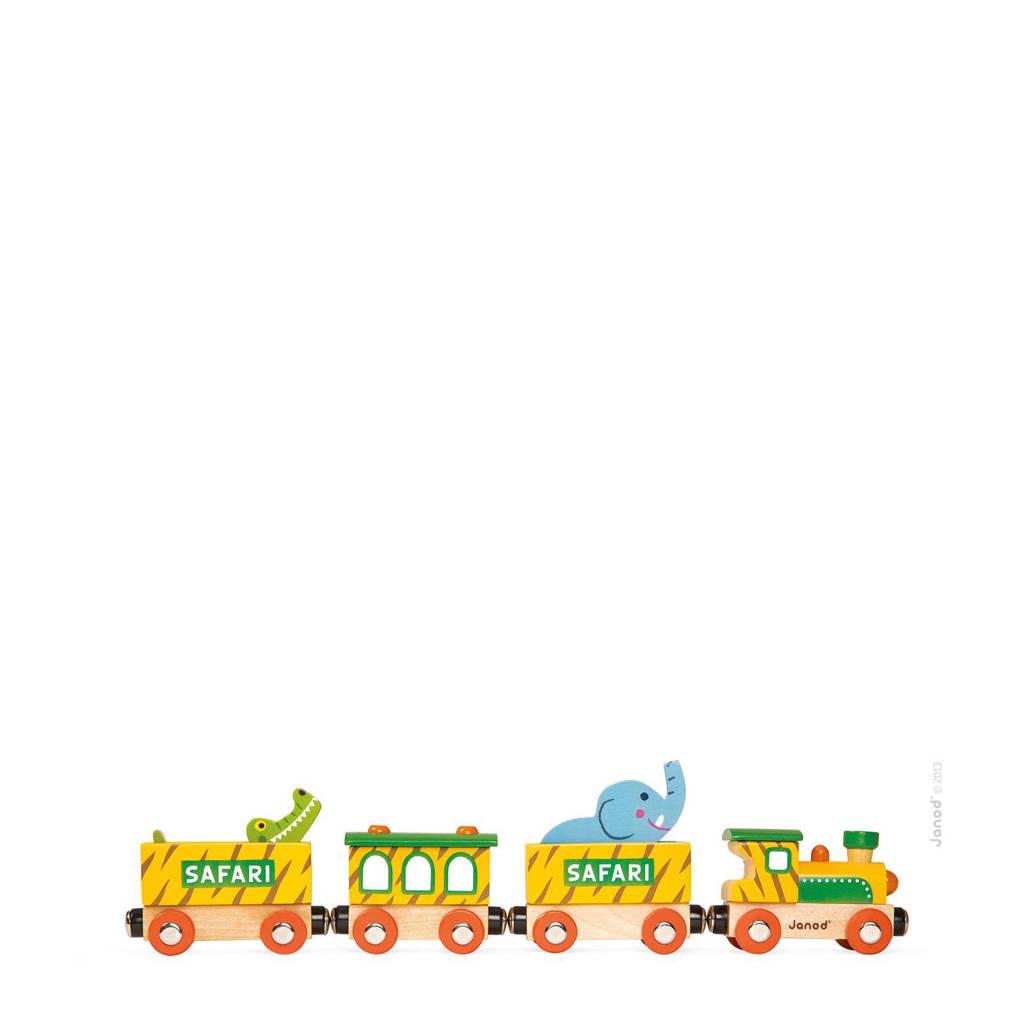 Janod houten Story trein safari
