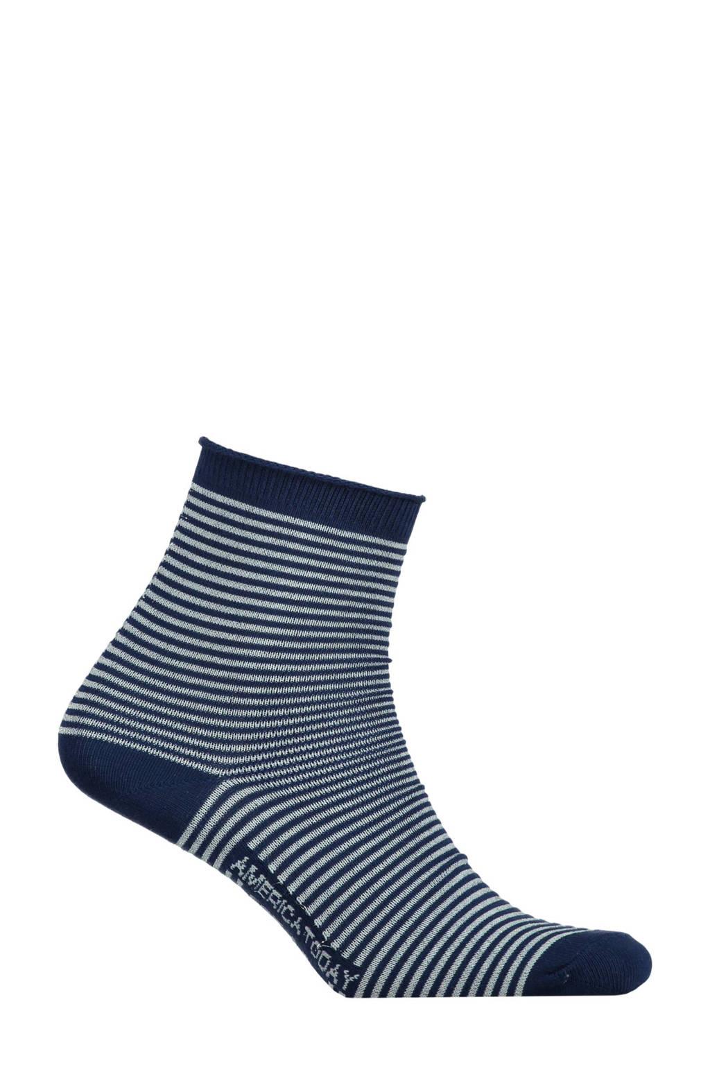 America Today sokken met glitters, Donkerblauw