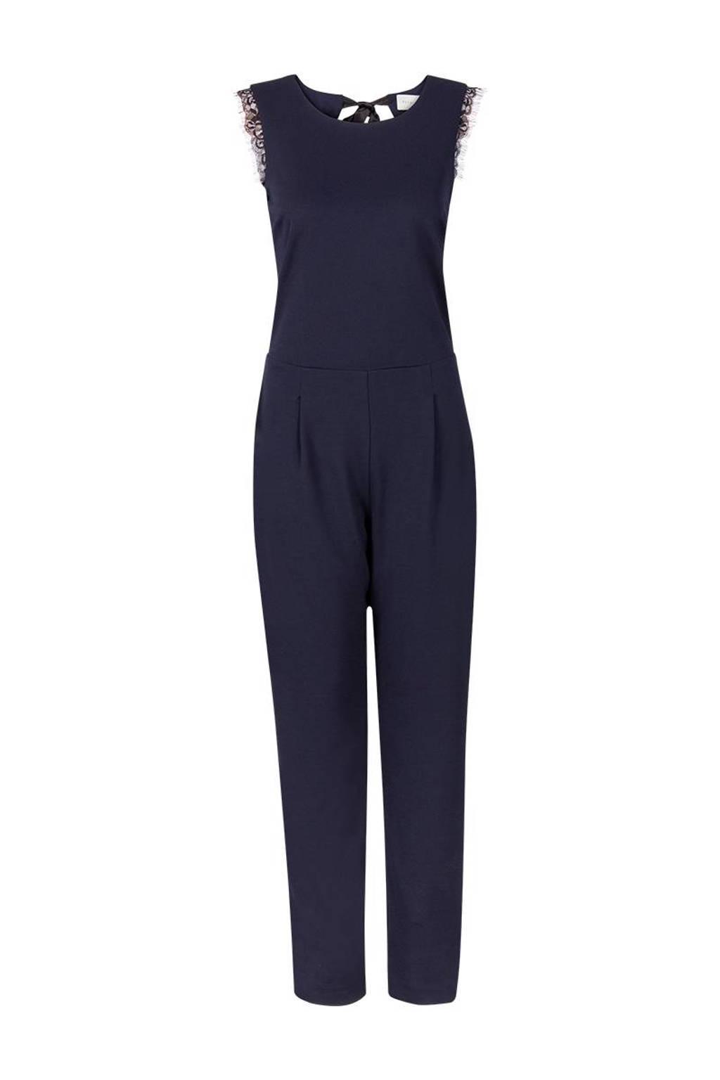 Promiss jumpsuit, Donkerblauw