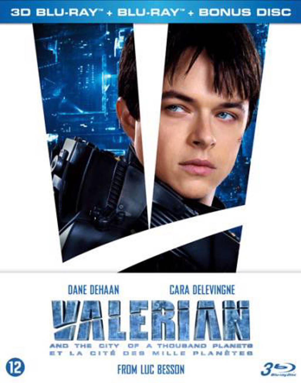 Valerian and the city of a thousand planets (3D)(Steelbook) (Blu-ray)
