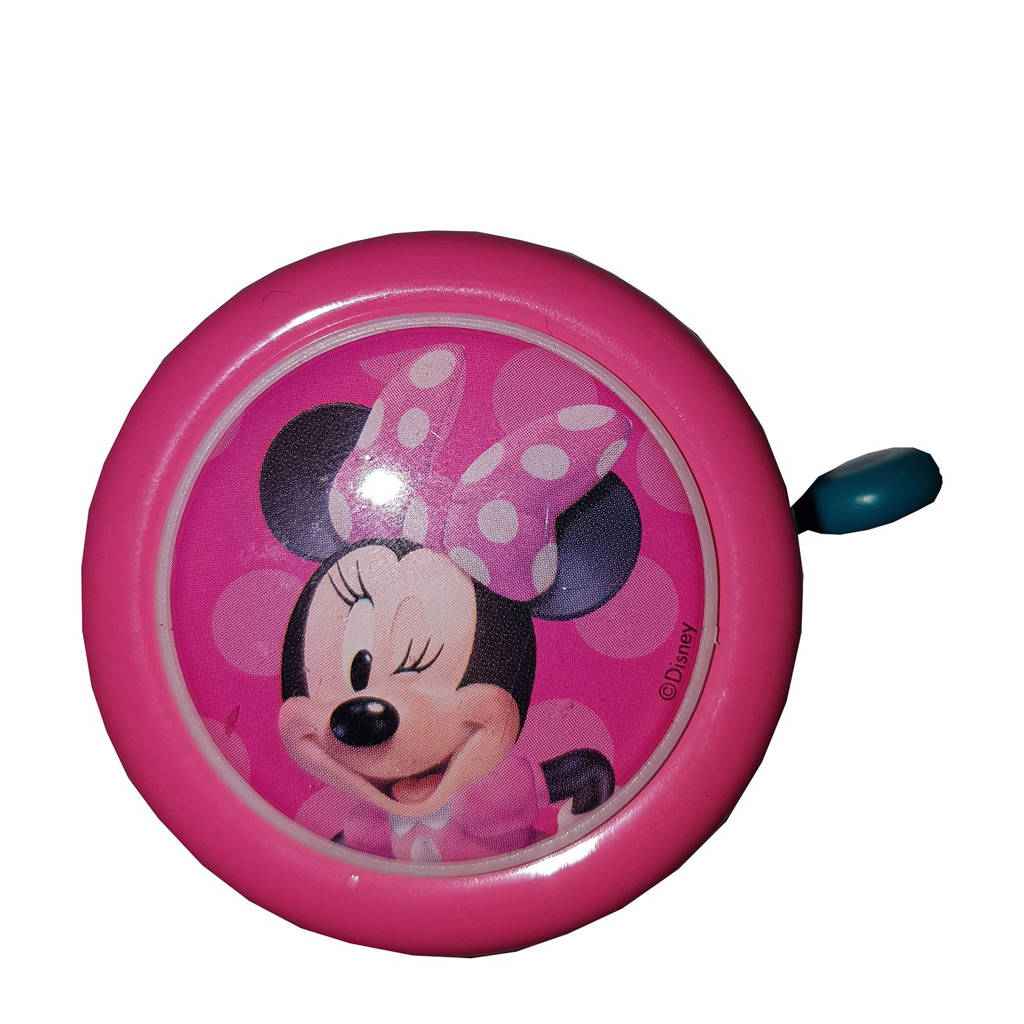 Disney Disney Minnie Mouse fietsbel, Roze