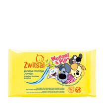 Zwitsal Woezel & Pip  Sensitive vochtige doekjes - 57 stuks - baby