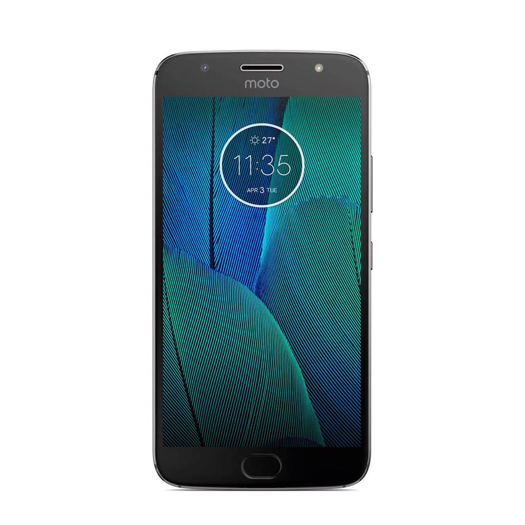 Motorola Moto G5s Plus zwart, Grijs