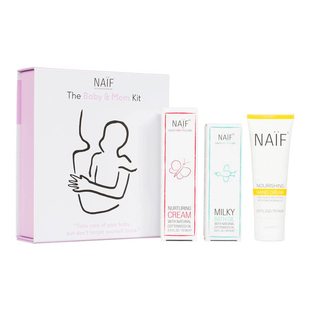 NAÏF Babies & Babes kit geschenkset (4-delig)