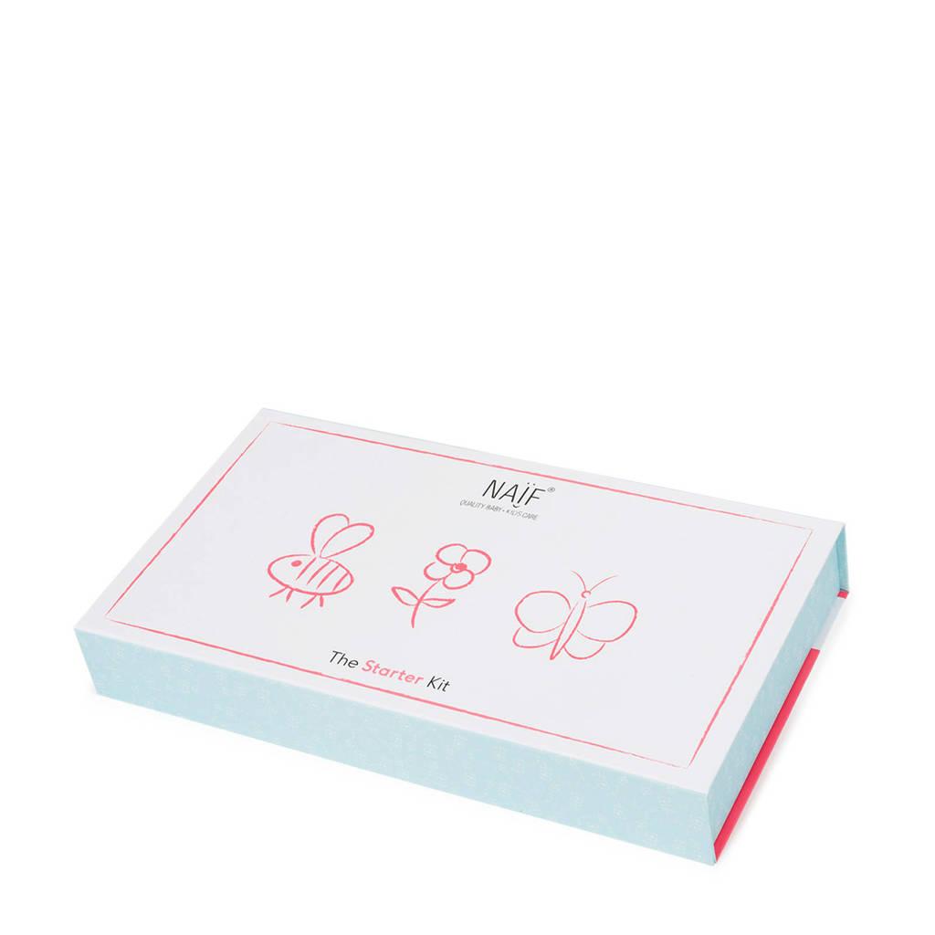 NAÏF Starter kit geschenkset (6-delig)