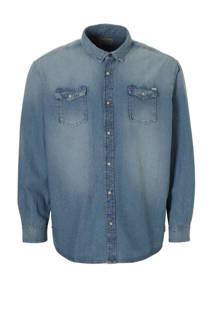 Jack & Jones Plus Size Sheridan denim overhemd (heren)
