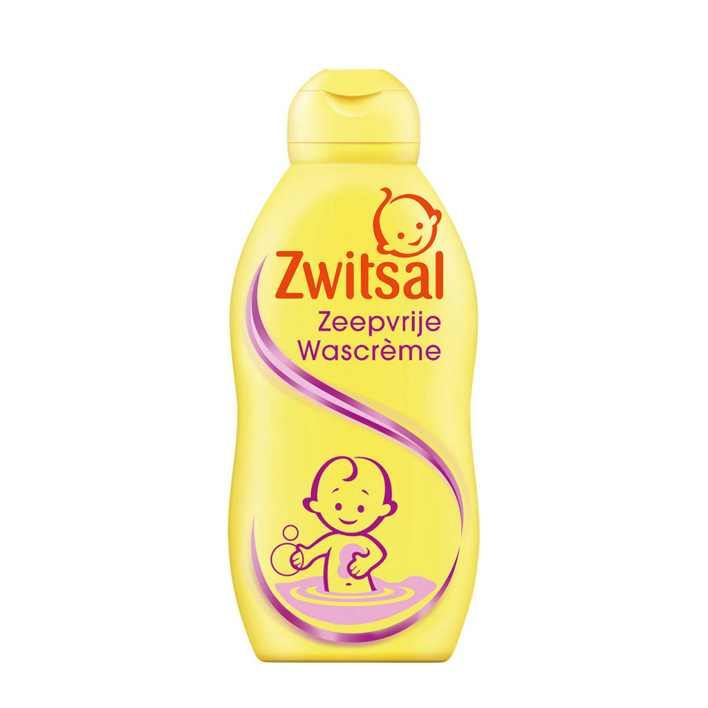 Zwitsal zeepvrije wascrème - 200 ml - baby