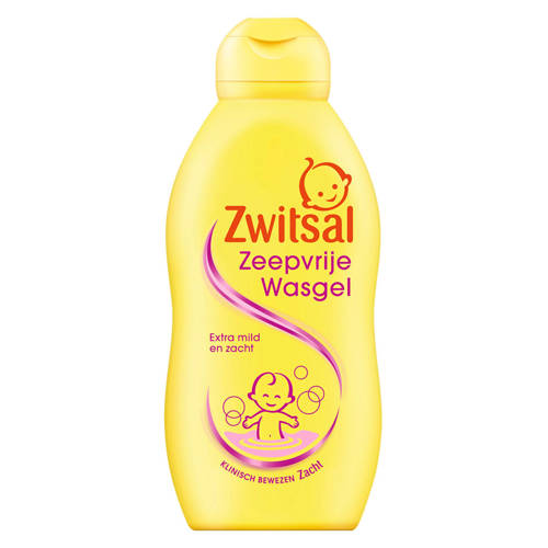 Zwitsal Om Te Wassen Wasgel Zeepvrij 200ml