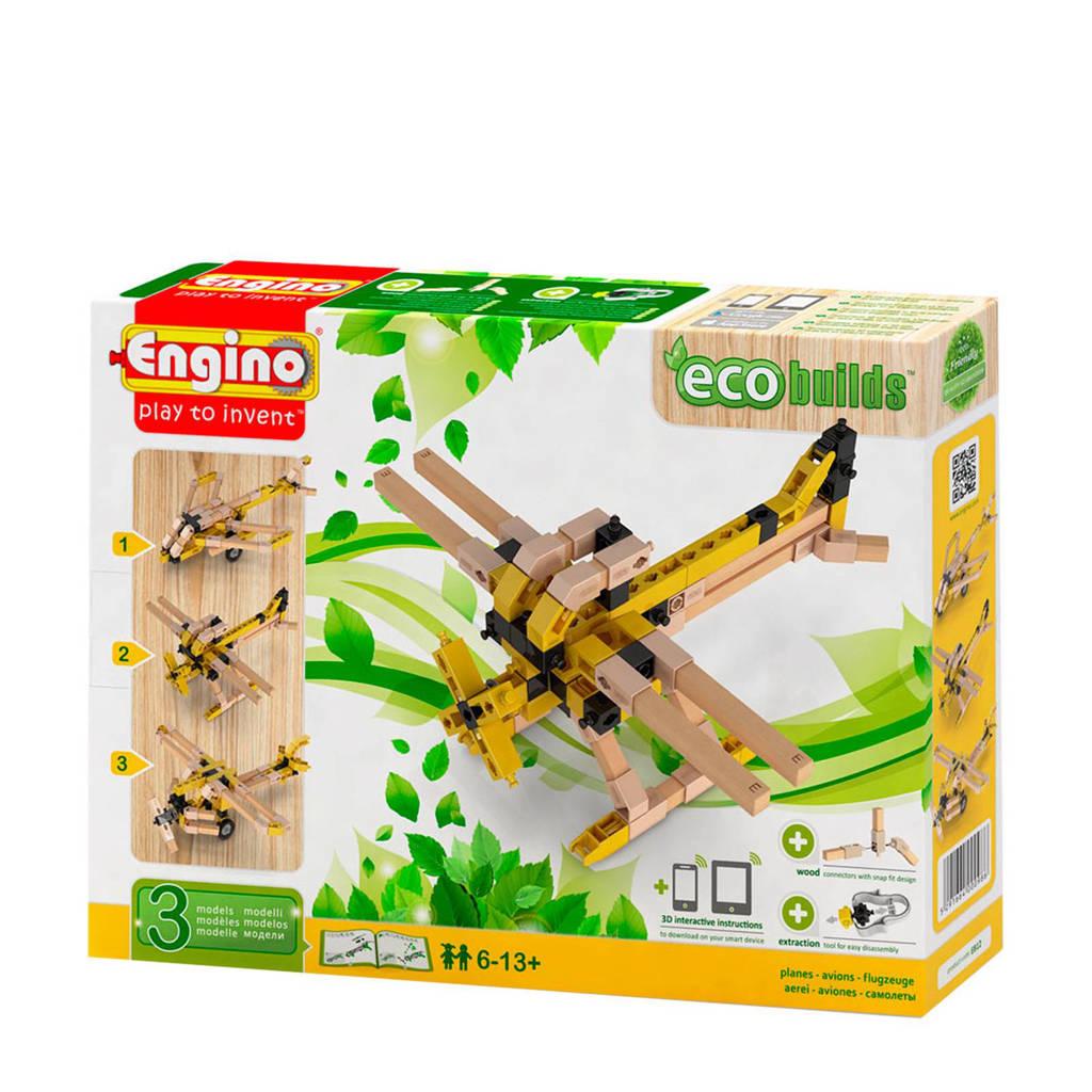 Engino  Eco Vliegtuigen 3 in 1