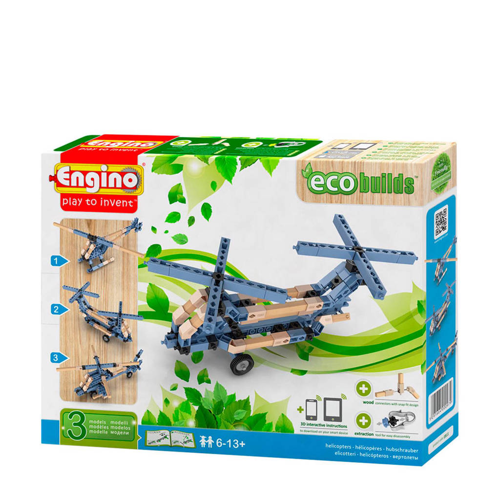 Engino  Eco Helikopters 3 in 1