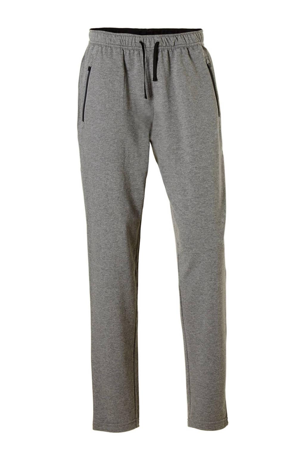 Li-Ning sportbroek, grijs melange/ zwart
