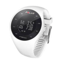 Polar M200 GPS sporthorloge wit