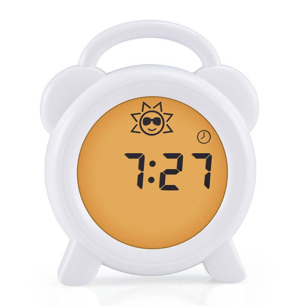 Alecto BC-100 slaaptrainer, nachtlampje en wekker, Wit