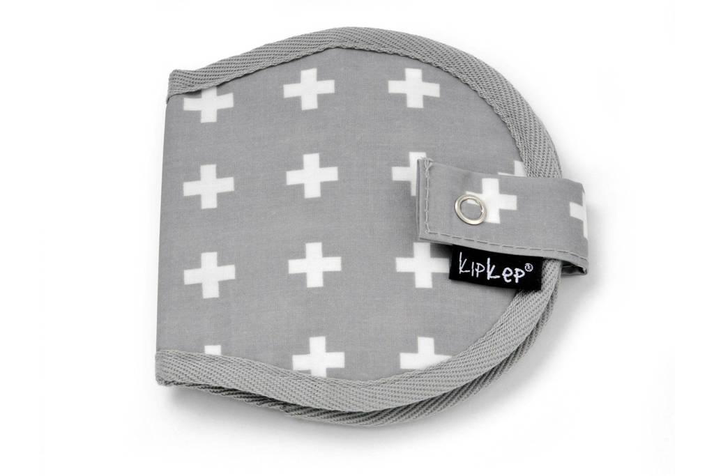 KipKep Napper etui voor borstkompressen crossy grey, Crossy grey