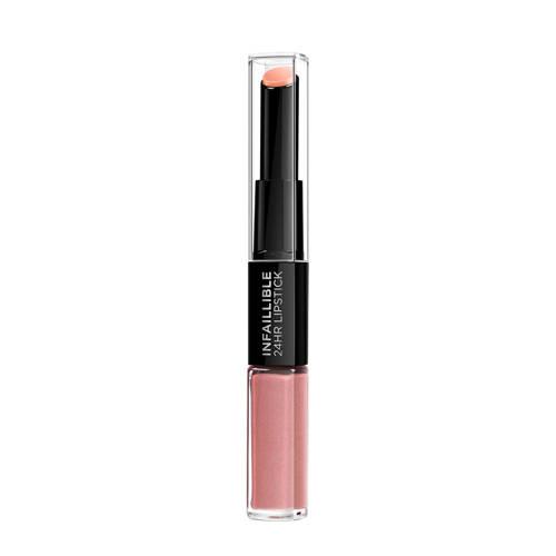 Loreal Paris Infailliblex lipstick 111 Permanent Blush Stuk