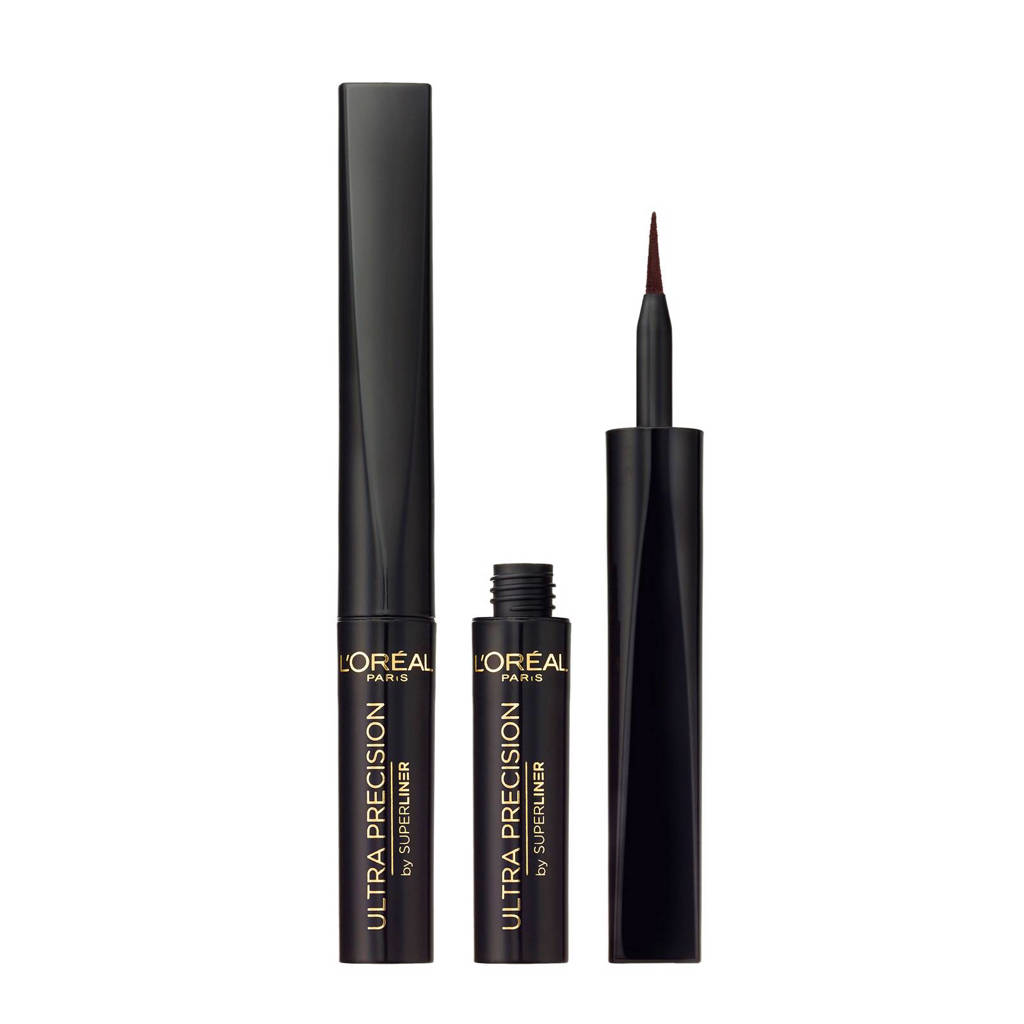 L'Oréal Paris Superliner Ultra Precision zwart - Eyeliner, Zwart