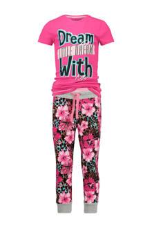 pyjama Woliene met bloemen print