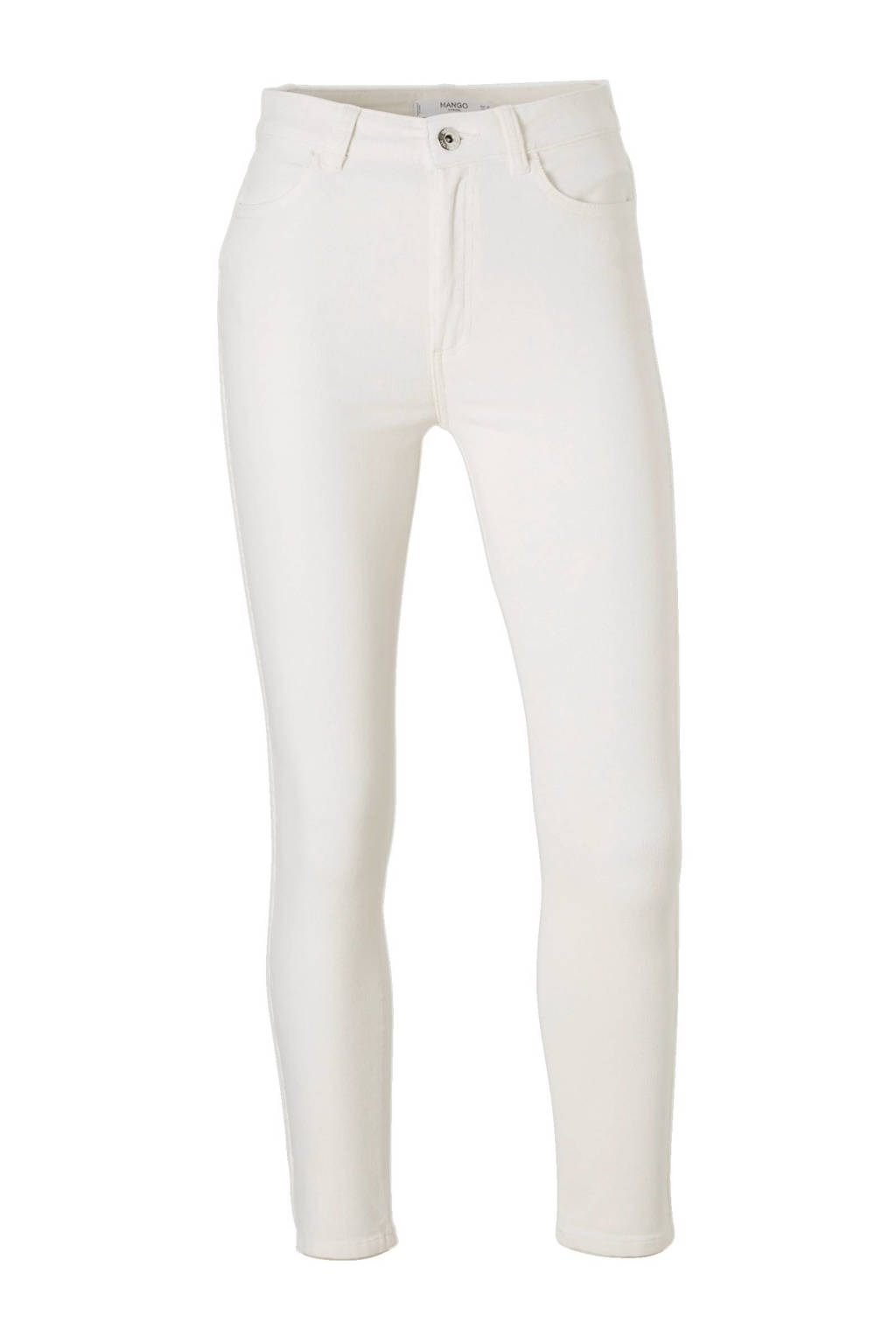 vrijetijdsschoenen enorme selectie van korting Mango cropped skinny fit corduroy broek   wehkamp