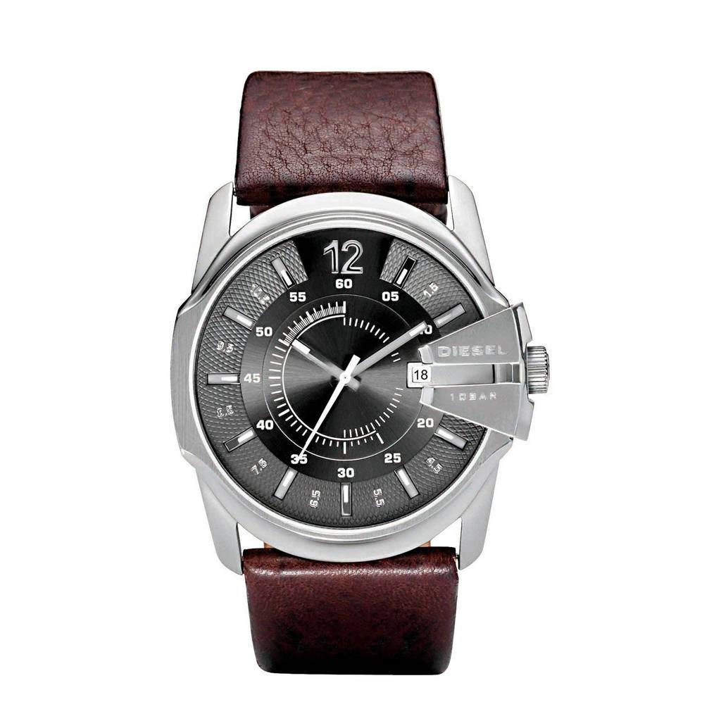 Diesel  horloge Master Chief DZ1206 bruin, Bruin