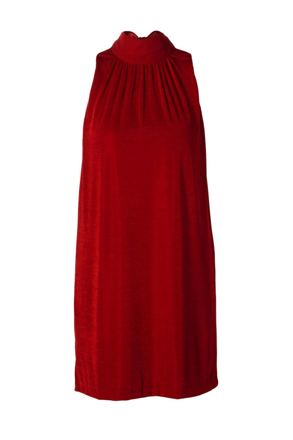 Mango jurk, Rood