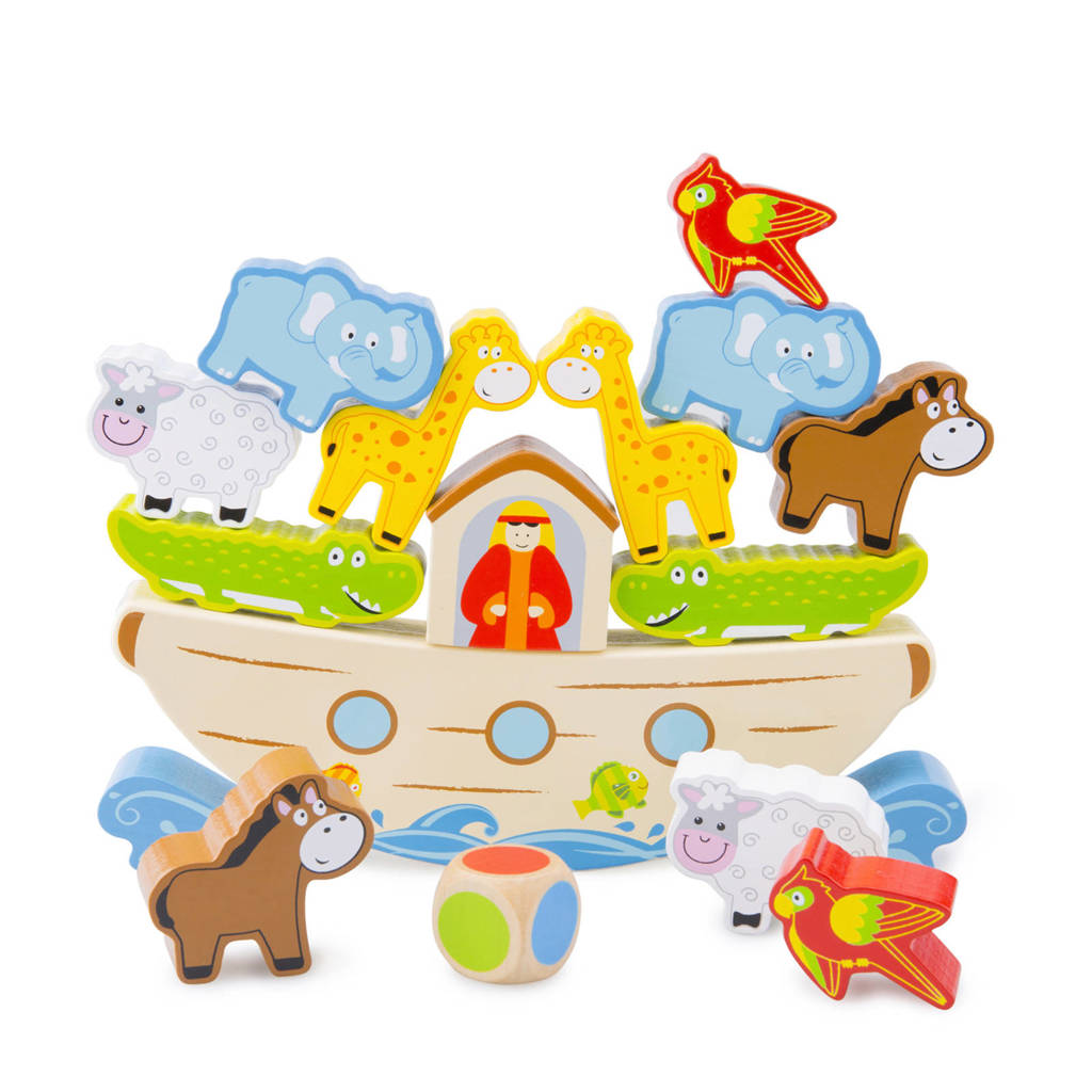 New Classic Toys Ark van Noach balansspel kinderspel