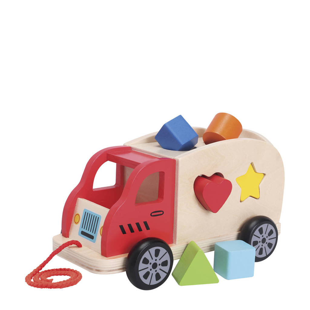New Classic Toys houten vormentruck