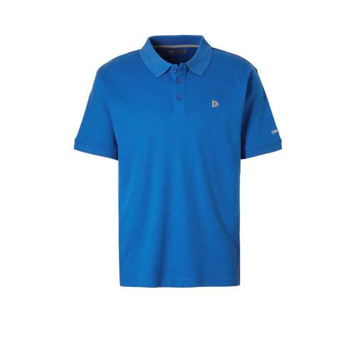 Donnay sportpolo hard blauw gemeleerd