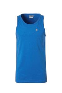 Donnay   sportsinglet hard blauw gemeleerd, Hard Blauw Gemeleerd