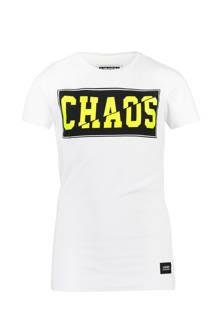 T-shirt Ilyano wit