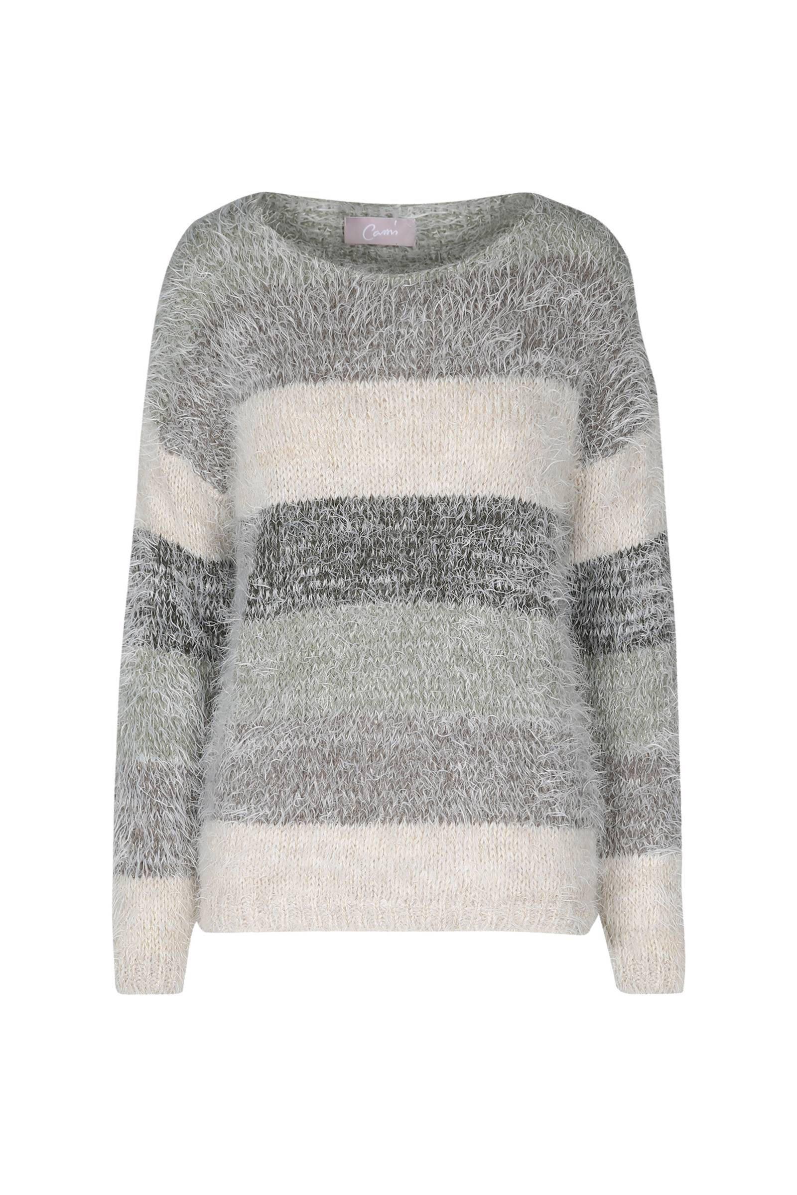 Cassis fluffy trui met parels | wehkamp