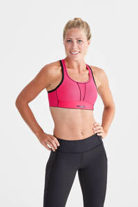 SWEMARK Sports by Swegmark Level 4 Movement sportbh roze, Roze/zwart