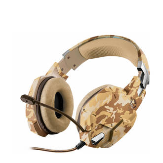 GXT 322C Carus gaming headset dessert camo