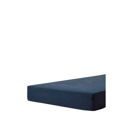 Beddinghouse Fitted Sheet Hoeslaken Jersey Navy 80 x 200 cm