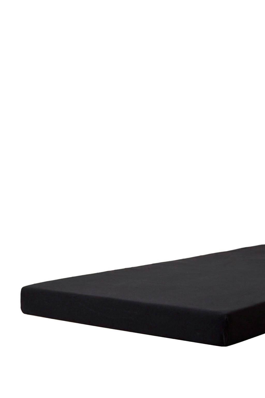Beddinghouse jersey topmatras hoeslaken Zwart