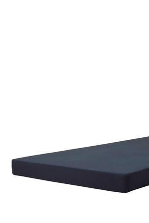 jersey topmatras hoeslaken Donkerblauw