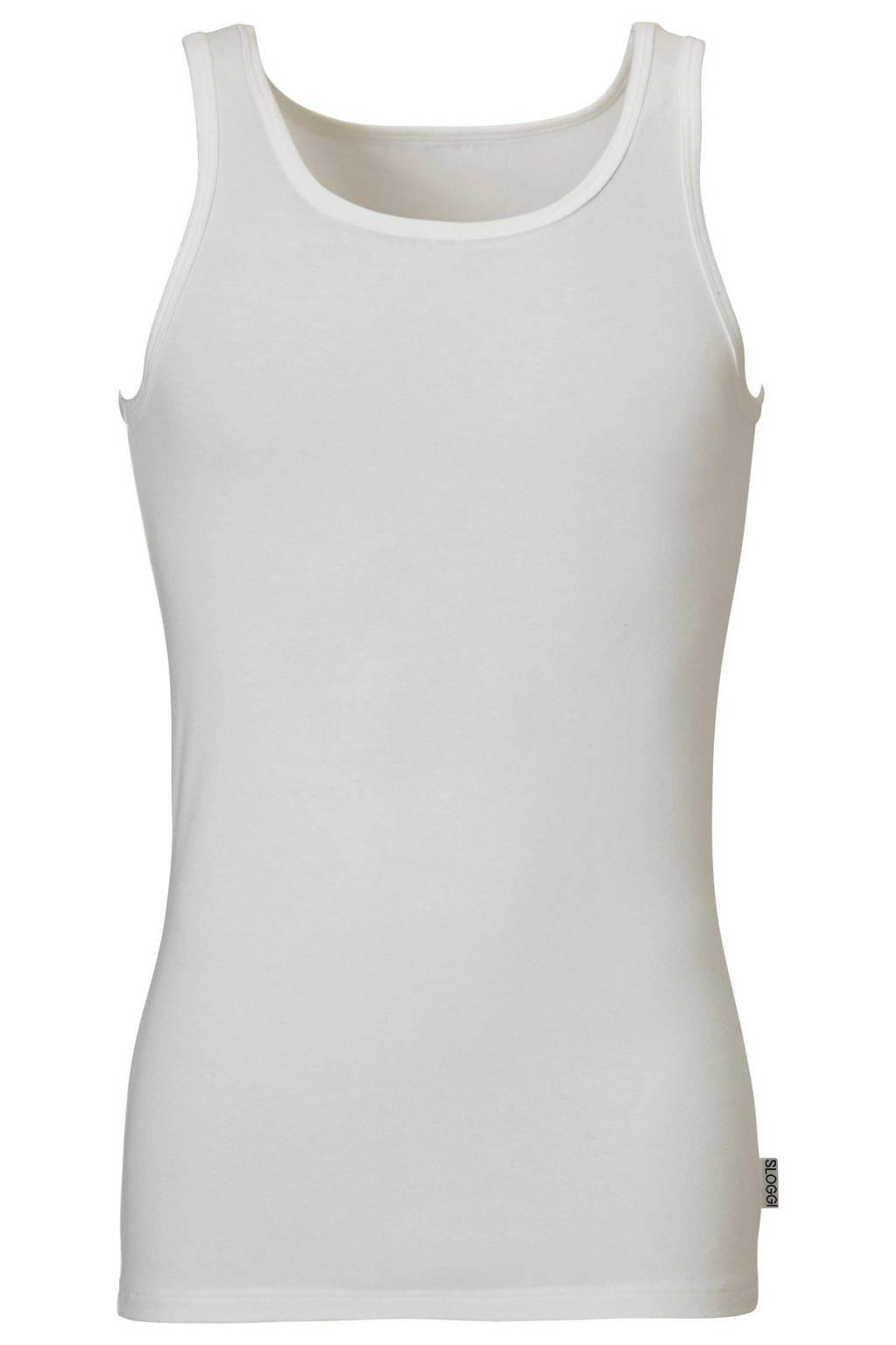 Sloggi Men Basic hemd wit, Wit