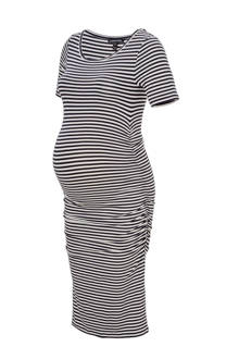 positie jurk 'Jenna' met streepdessin
