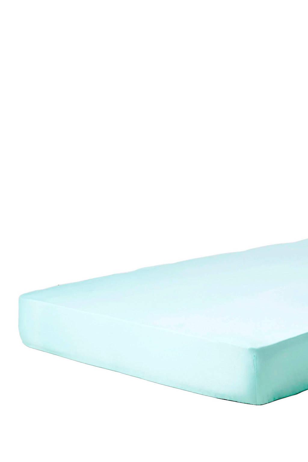 Nieuw Essenza katoensatijnen hoeslaken Mintgroen   wehkamp SI-74