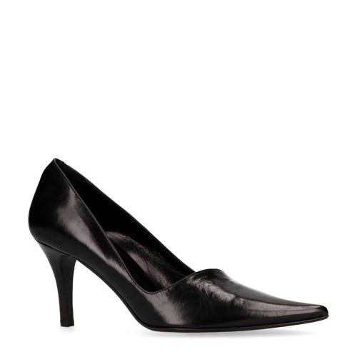 Manfield Black Label leren pumps