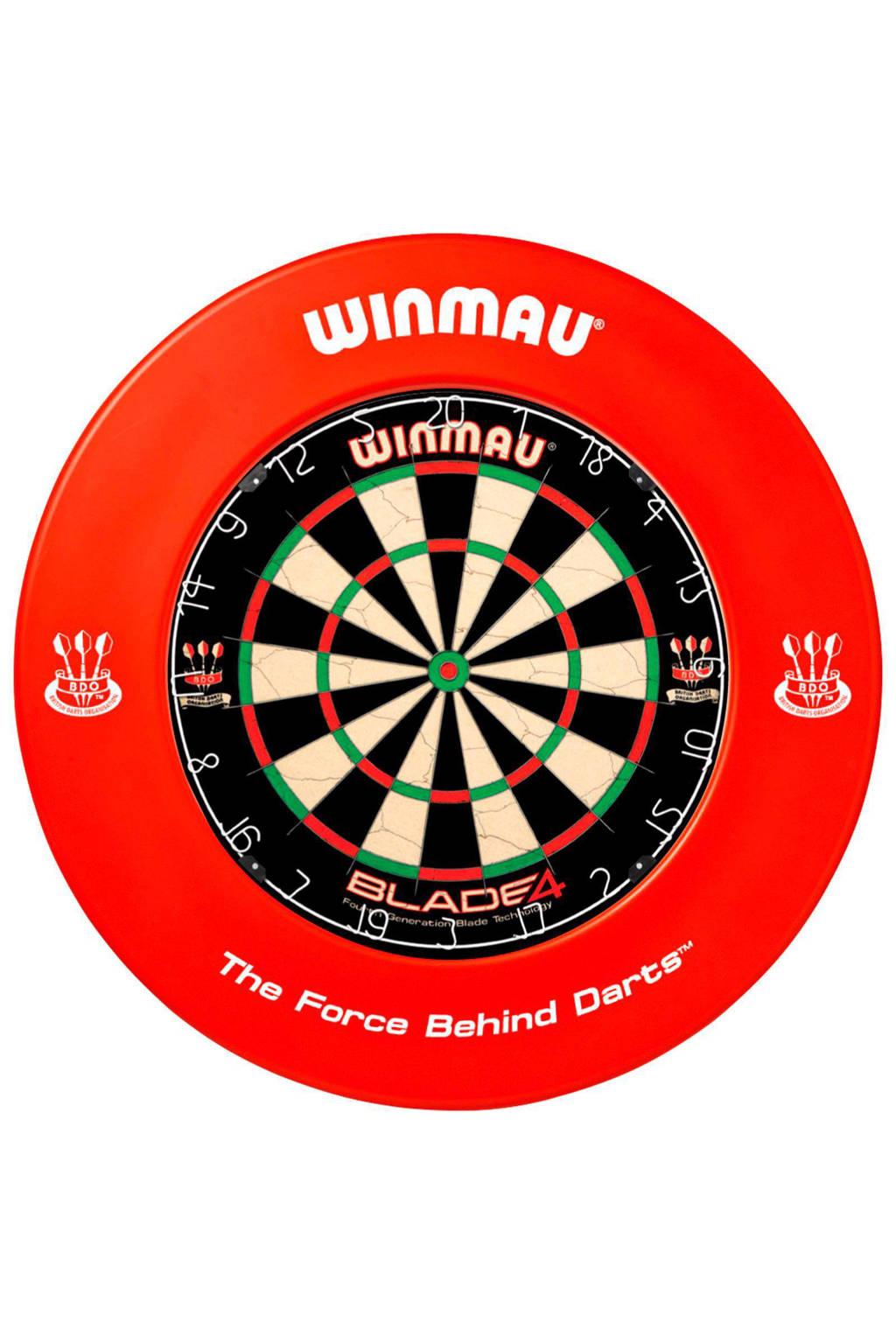 Winmau 8360.080 dartbord surround - Rood