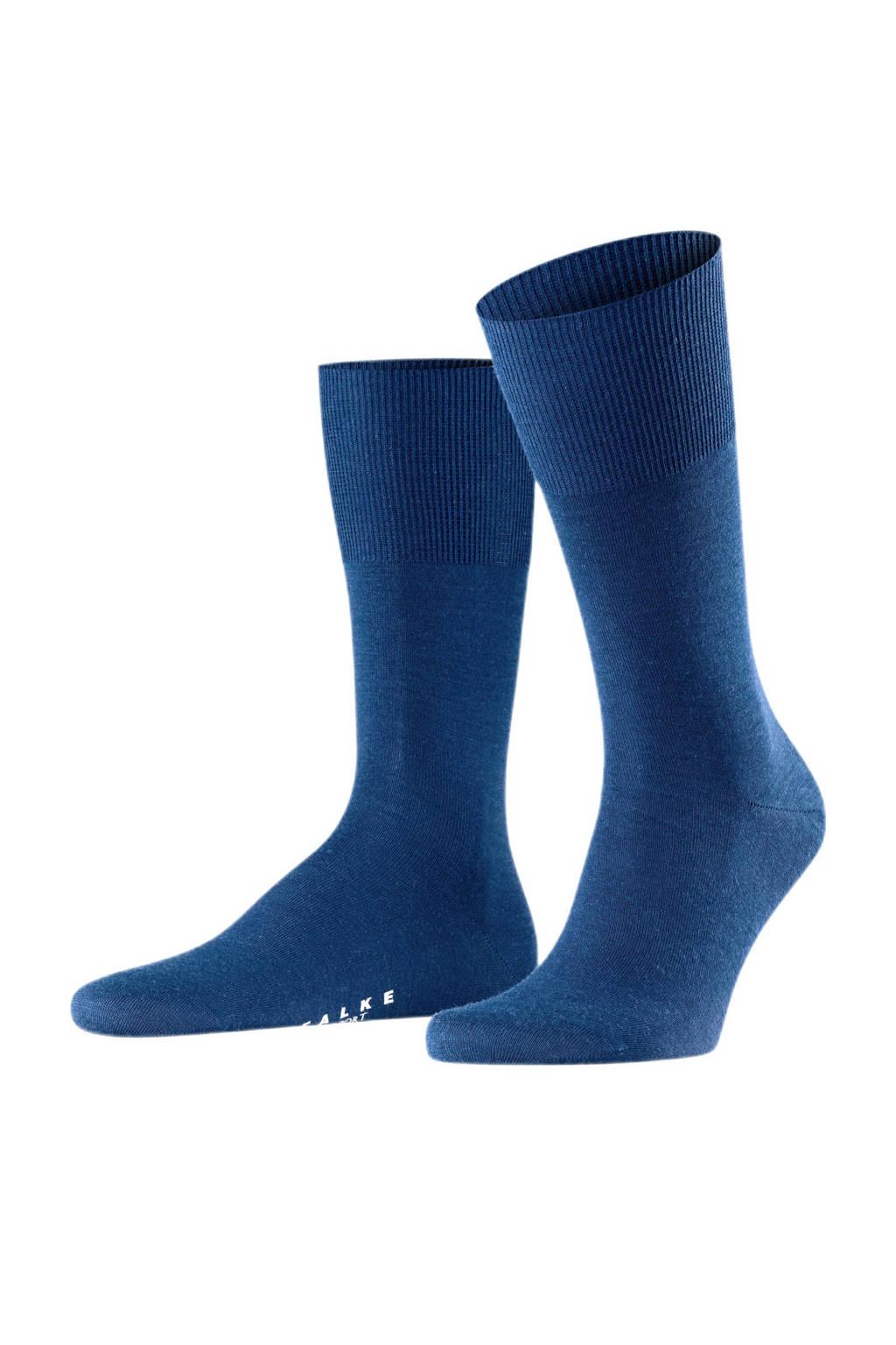 FALKE airport sokken blauw, Blauw
