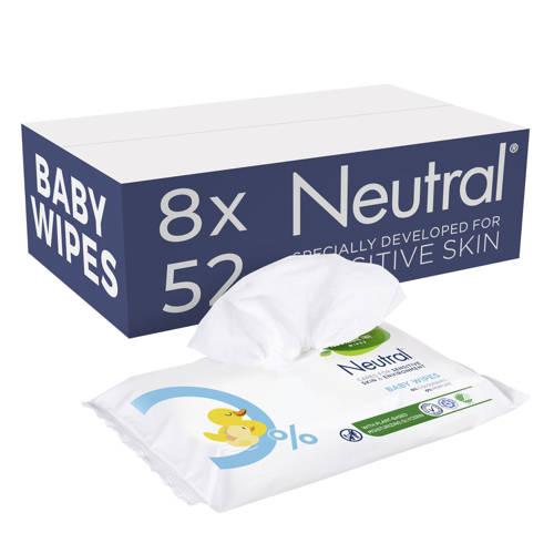Neutral Baby 8x63 billendoekjes - parfumvrij kopen