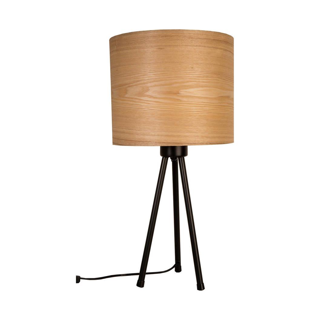 Dutchbone Tafellamp Woodland, Bruin
