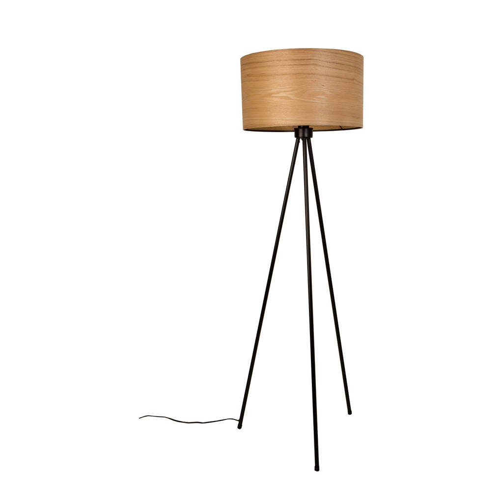 Dutchbone Woodland vloerlamp, Bruin/zwart