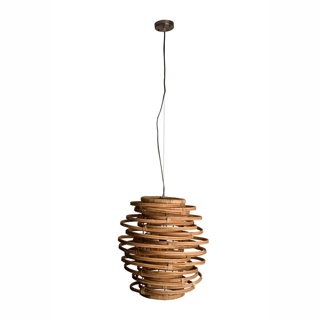 Dutchbone Kubu hanglamp, Bruin